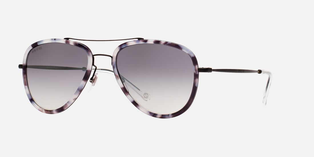 Gucci Iconic Sunglasses With A Slim Spectacle Frame Best ...