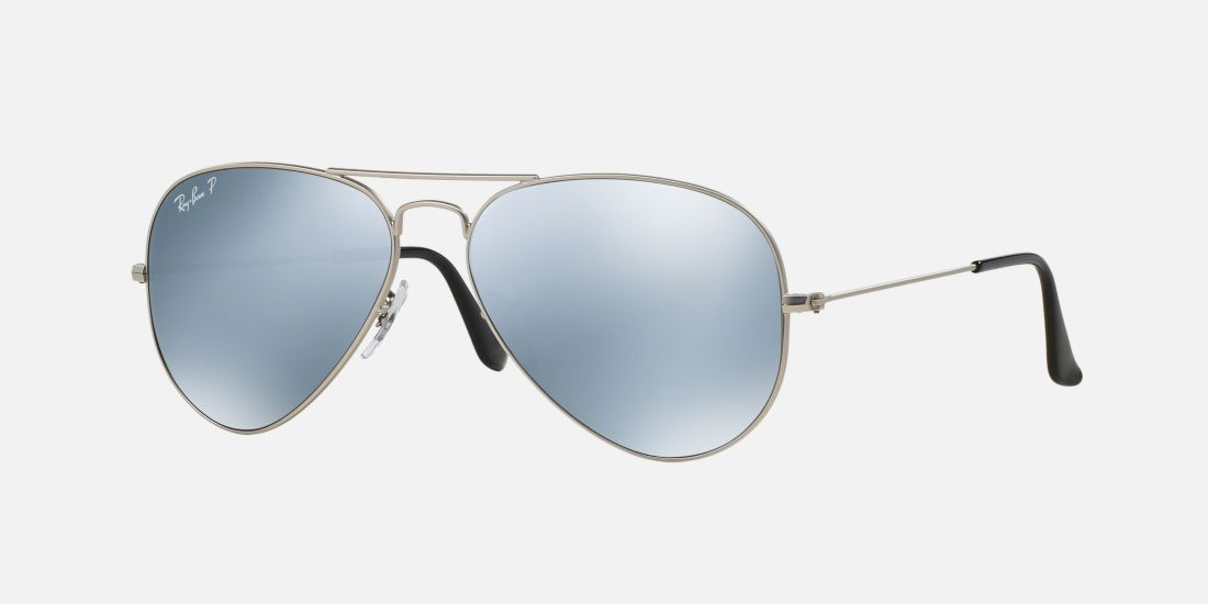 Ray Ban Silver Frame Glasses : Ray-Ban Aviator Style Sunglasses For Fashion ladies Best ...