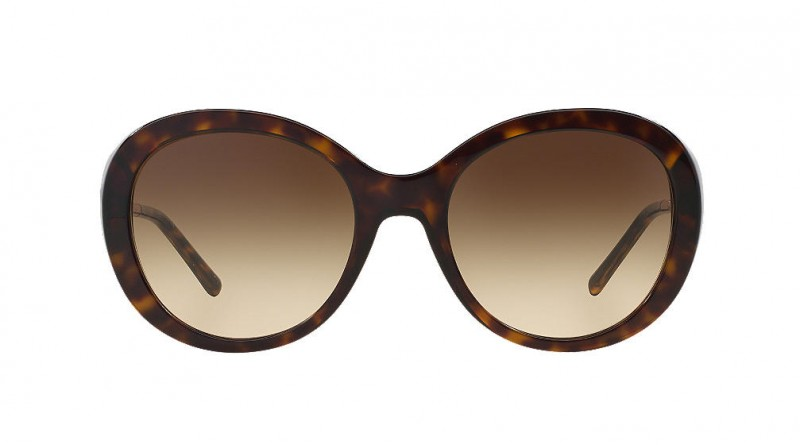 Burberry classic sunglasses with gold spectacle frame