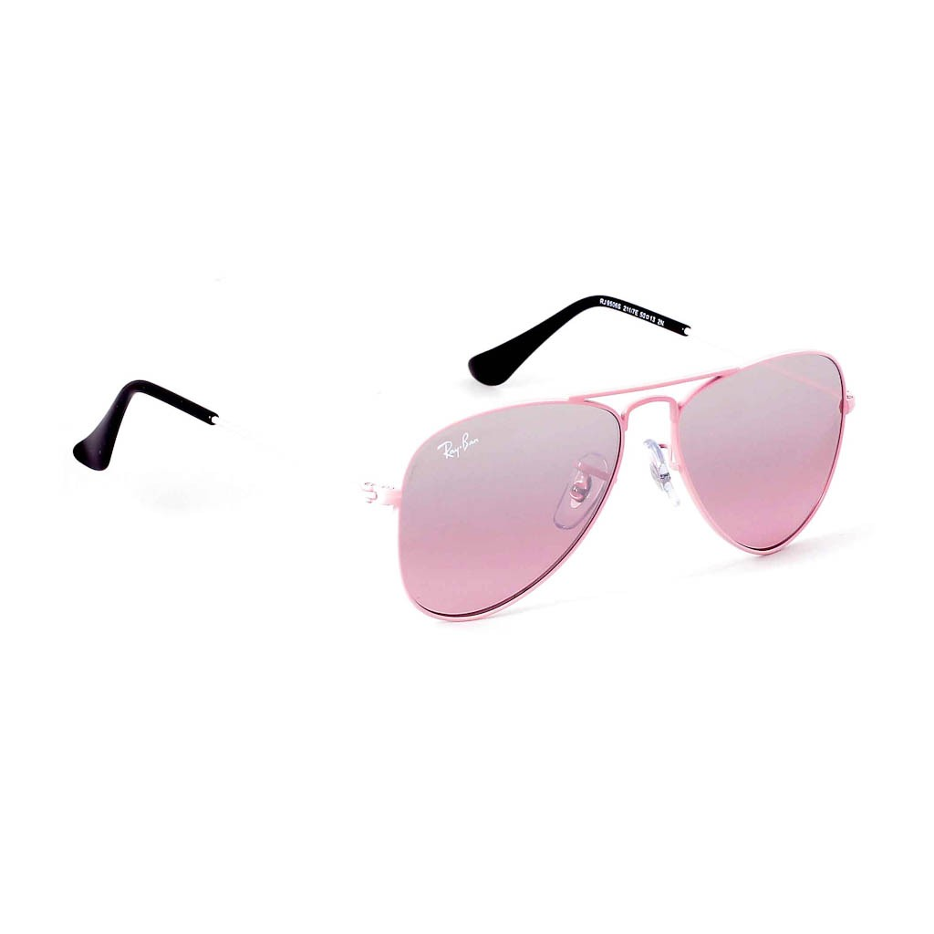 Ray Ban Aviator Junior Sunglasses With Pink Lenses Best