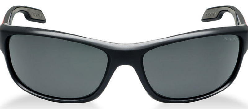 replica mens prada sunglasses cheap  front of prada linea rossa grey sunglasses