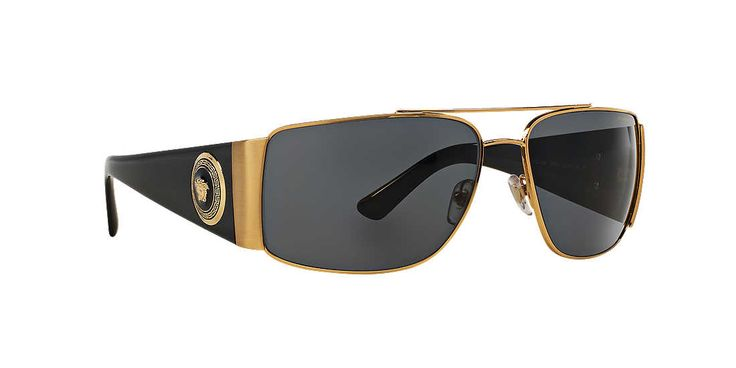 Versace Shield Sunglasses  versace vanitas black and gold rectangle sunglasses best replica