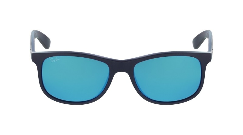 Side of Ray-Ban Andy square sunglasses
