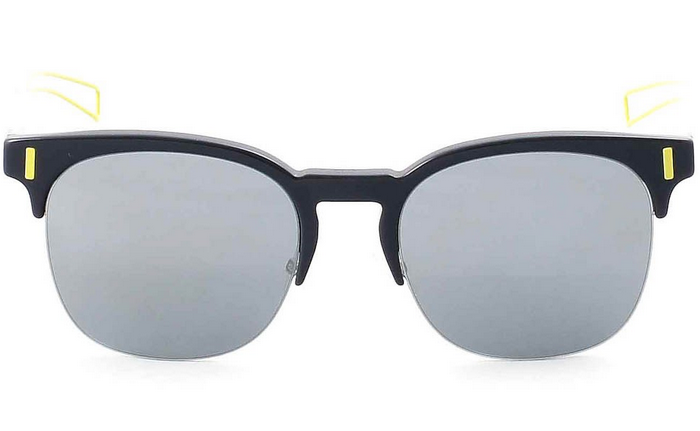Dior black tie square sunglasses