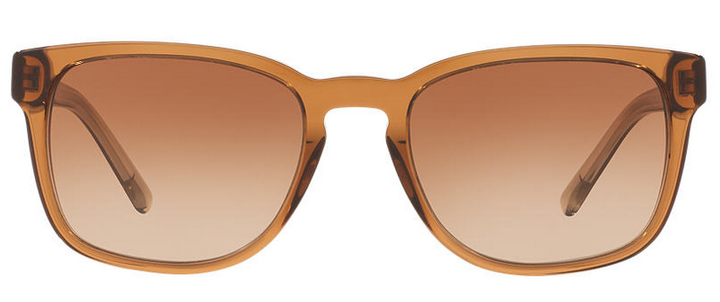 Front of Burberry brown gradient lenses sunglasses