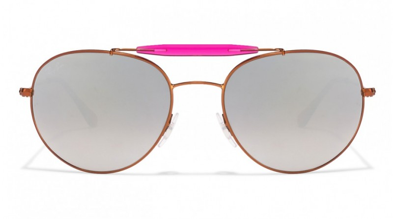Front of Ray-Ban unisex pilot sunglasses