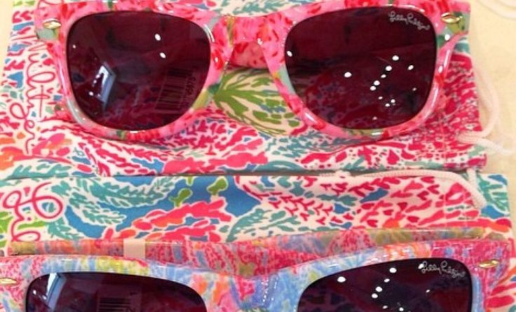 Lilly Pulitzer Shades