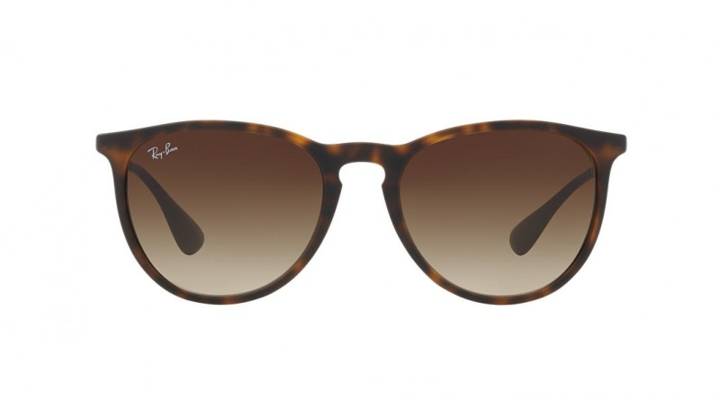 Front of Ray-Ban leopard fashion women's sunglasses
