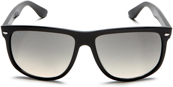Front of Ray-Ban RB4147 Flat Top Boyfriend Sunglasses