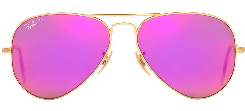 Front of Ray-Ban classic aviator sunglasses