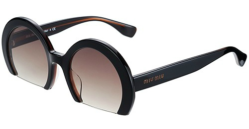 Miu Miu Cut Off Sunglasses